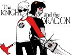 back_to_back caledscratch dave_strider dragonhead_cane planetofjunk red_baseball_tee terezi_pyrope
