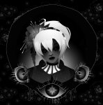 _psiionix_ dark flowers grimdark headshot light_aspect rose_lalonde solo twitter