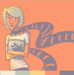 cats limited_palette meowcats roxy_lalonde solo starter_outfit thatisdebatable