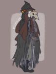 aradia_megido bloodborne cane crossover pourrim skulls solo