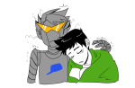 brobot electric_greens head_on_shoulder jake_english my-friend-the-frog redrom shipping sleeping