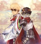 aspect_symbol blood_aspect dave_strider deleted_source fancytier godtier heart_aspect homes_smell_ya_later huge karkat_vantas knight lawey medieval moved_source time_aspect