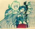 crossover humanized jojo's_bizarre_adventure kanaya_maryam kmbackwardsk lusus virgin_mother_grub