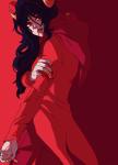 aradia_megido blackoutballad blood godtier maid profile solo