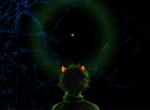 back_angle dragoncat-senpai green_sun karkat_vantas panel_redraw solo