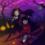 cosplay facepaint fantroll ghosts gravity_falls green_moon halloweenstuck paradoxjelli pink_moon stars the_nightmare_before_christmas