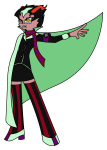 anonymous_artist crossover eridan_ampora fusion gainax panty_and_stocking pastiche rule63 solo transparent