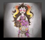 axe blood boldir_lamati chahut_maenad comic hiveswap millenary-kid weapon