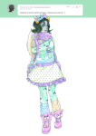 casual fashion kanayas_beauty_salon milkydayy nepeta_leijon no_hat request solo zodiac_symbol