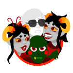 aradia_megido caliborn damara_megido dancestors dave_strider godtier knight lord maid megidos time_aspect transparent tyde