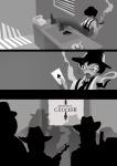 au cake cd clubs_deuce comic dd diamonds_droog fedora grayscale gun handgun hb hearts_boxcars industrialrage jack_noir jane_crocker midnight_crew problem_sleuth_(adventure) smoking spade spades_slick