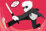 broken_katana crossover dave_strider persona shin_megami_tensei solo word_balloon yoshiie