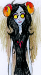 aradia_megido corpse_bride crossover javvie sketch solo