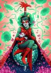 aspect_symbol dragon_cane flowers legislacerator_suit mind_aspect s-opal scalemates solo stars terezi_pyrope