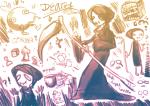 ! ? art_dump beverage chameleocoonj crossover death heart problem_sleuth_(adventure) q-bert scythe sudocube weapon