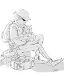 babies bro dave_strider grayscale hamletmachine kigurumi lil_cal sleeping the_muppets