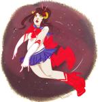 amarantto damara_megido dancestors midair pastiche sailor_moon solo stars