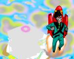 clouds john_egbert land_of_light_and_rain midair panel_redraw rocket_pack spirograph triptrippy vodka_mutini wise_guy_slime_suit