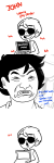 comic computer crossover dad dave_strider ipoog john_egbert meme slender slenderman