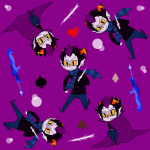 ahab's_crosshairs clubs diamond empiricist's_wand eridan_ampora gumiira heart solo spade wallpaper