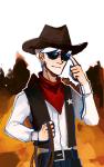 brocursion dave_strider hat solo western