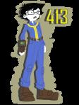413 cckittycreative crossover fallout john_egbert sburb_logo solo transparent