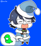 fate fate_extra holidaystuck john_egbert kid_symbol meme michelle_egbert parody solo source_needed