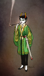 au fashion formal hemostuck kanaya_maryam rainbow_drinker roachpatrol smoking solo weapon