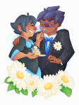 cake fashion flowers formal freckles jane_crocker john_egbert kindergraph