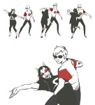 coolkids dancing dave_strider tearabbit6 terezi_pyrope twitter