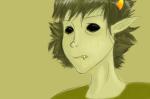 blind_sollux blood crying leapfrogginunicorns no_glasses sollux_captor solo