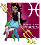 chickenmask feferi_peixes psidon's_trident solo text zodiac zodiac_symbol