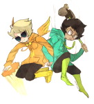 davesprite diabetes fashion holding_hands humanized john_egbert nymphicus redrom shipping sprite thunderbirds wrinklefucker