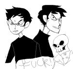 arijandro humanized karkat_vantas skulls solo word_balloon