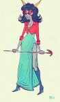 ancestors dragon_staff fashion formal melia neophyte_redglare solo sufferer_necklace