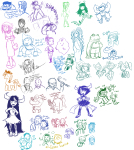 adventure_time blush breath_aspect chrono_trigger crossover fantroll food godtier heir jake_english john_egbert left_4_dead lusus my_little_pony page portal rain sailor_moon soul_eater specialsari tavros_nitram tinkerbull