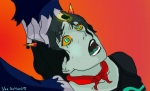 aranea_serket crossover crying dancestors legend_of_korra mindpaladin seeing_terezi terezi_pyrope