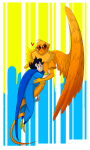 blush breath_aspect davesprite godtier heart heir hug john_egbert mayorowly redrom shipping sprite thunderbirds