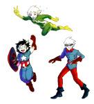 brigriv captain_america crossover dirk_strider jane_crocker marvel roxy_lalonde the_avengers