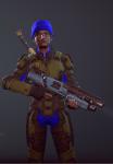 3d crossover gun humanized nepeta_leijon petrosyanengeniy solo xcom