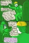clover comic crossover felt godzilla humanized itchy mothra tricotee