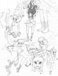 ancestors art_dump one_piece pool_cue_wands sketch the_handmaid tinysensei young_handmaid