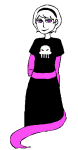 arijandro black_squiddle_dress rose_lalonde solo