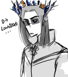 crossover equius_zahhak flower_crown flowers lord_of_the_rings solo tolkien trompehue