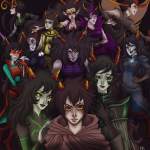 ancestor_cast ancestors dragonhead_cane dusking expatriate_darkleer grand_highblood her_imperious_condescension marquise_spinneret_mindfang neophyte_redglare orphaner_dualscar the_disciple the_dolorosa the_handmaid the_psiioniic the_sufferer the_summoner