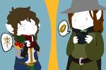 au cakedoom fandom fandomstuck hat lord_of_the_rings the_hobbit tolkien word_balloon