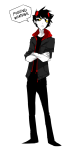 arms_crossed demented-sheep highlight_color karkat_vantas solo word_balloon