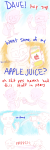 apple_juice comic dave_strider figsnstripes godtier heir john_egbert knight