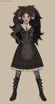 alice:_madness_returns aradia_megido crossover solo vanillin-villain