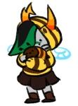 bee_outfit bees bronya_ursama hiveswap karasisdevi solo